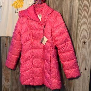 💕 Adorable GapFit Kids Royal Fuchsia Puffer Parka
